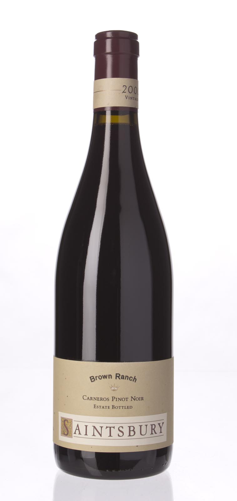 Saintsbury Pinot Noir Brown Ranch 2000, 750mL (WA88) from The BPW - Merchants of rare and fine wines.