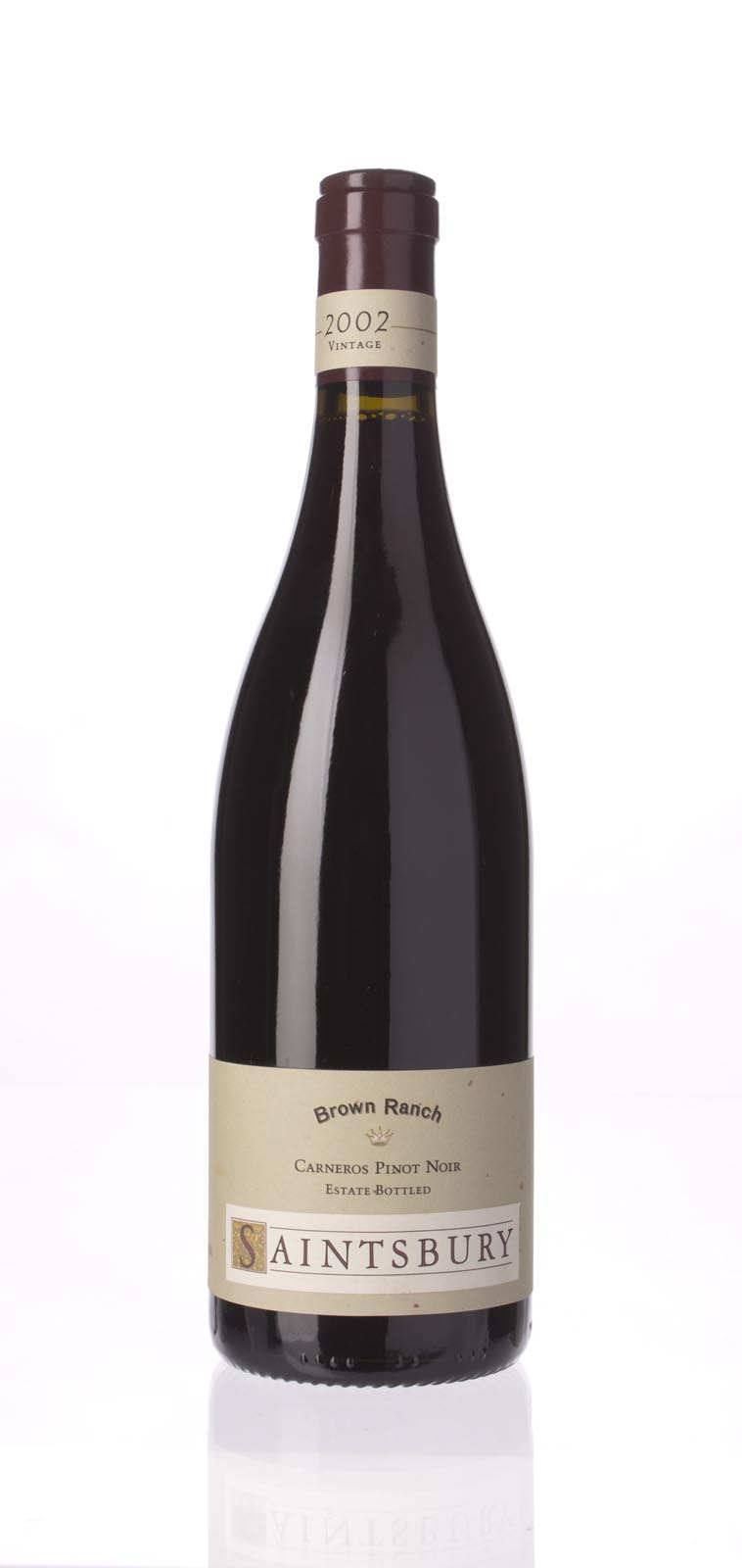 Saintsbury Pinot Noir Brown Ranch 2002, 750mL (ST92) from The BPW - Merchants of rare and fine wines.