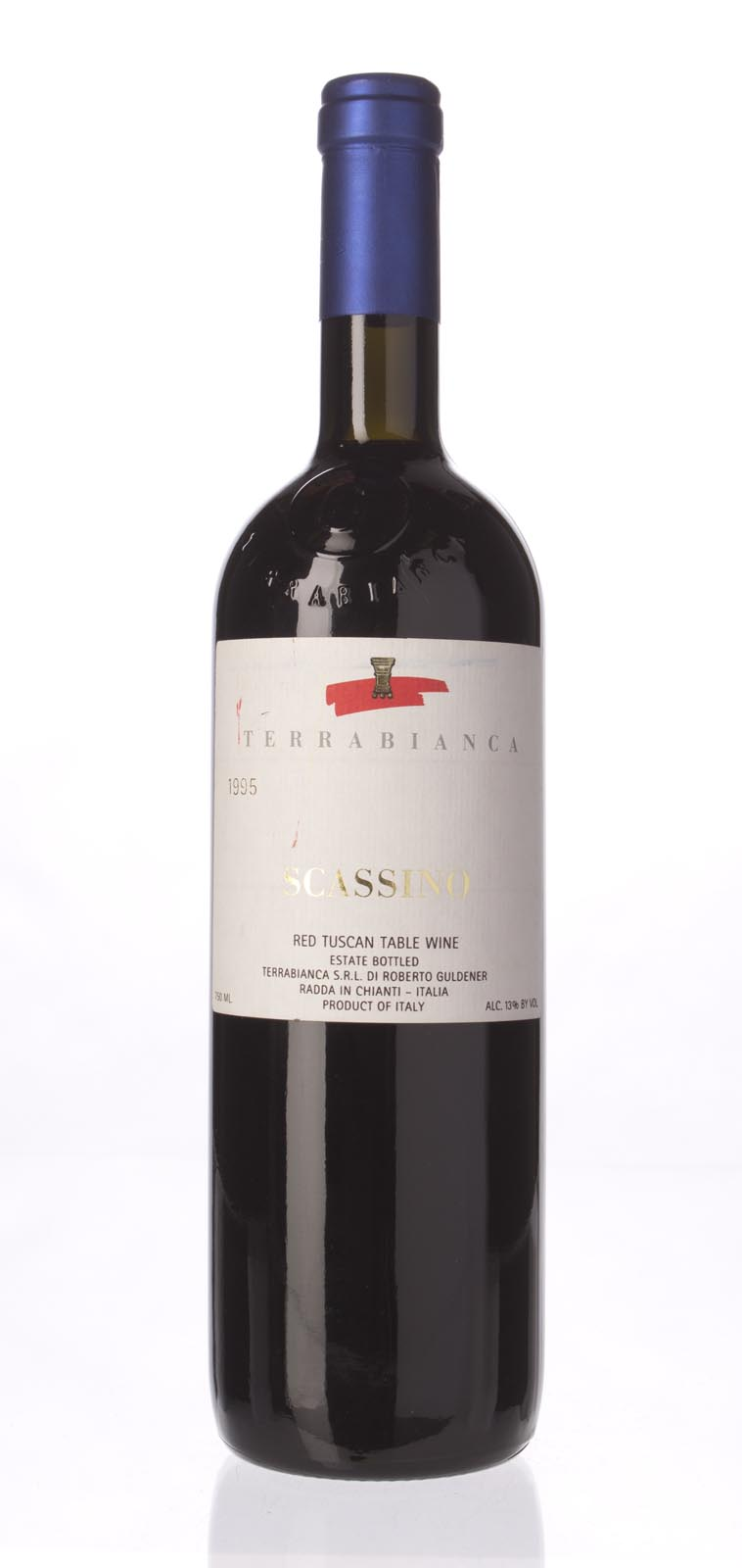 Terrabianca Chianti Classico Scassino 1995, 750mL () from The BPW - Merchants of rare and fine wines.