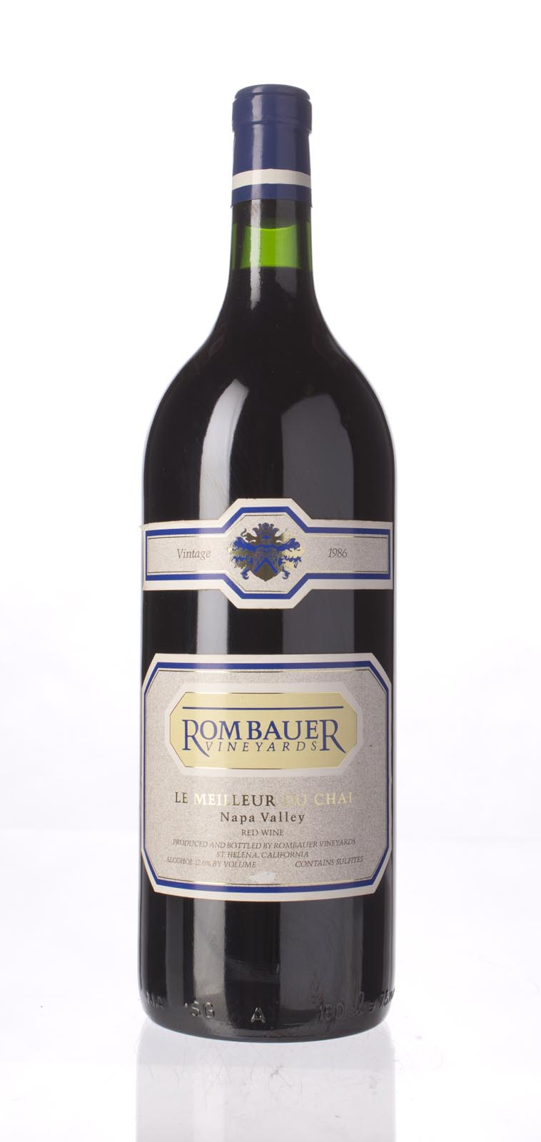Rombauer Proprietary Red Le Meilleur de Chai 1986, 1.5L () from The BPW - Merchants of rare and fine wines.