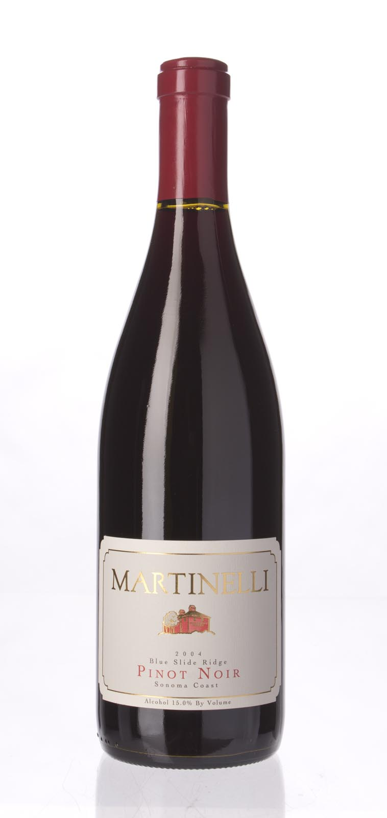 Martinelli Pinot Noir Blue Slide Ridge 2004, 750ml (WA92, ST93) from The BPW - Merchants of rare and fine wines.
