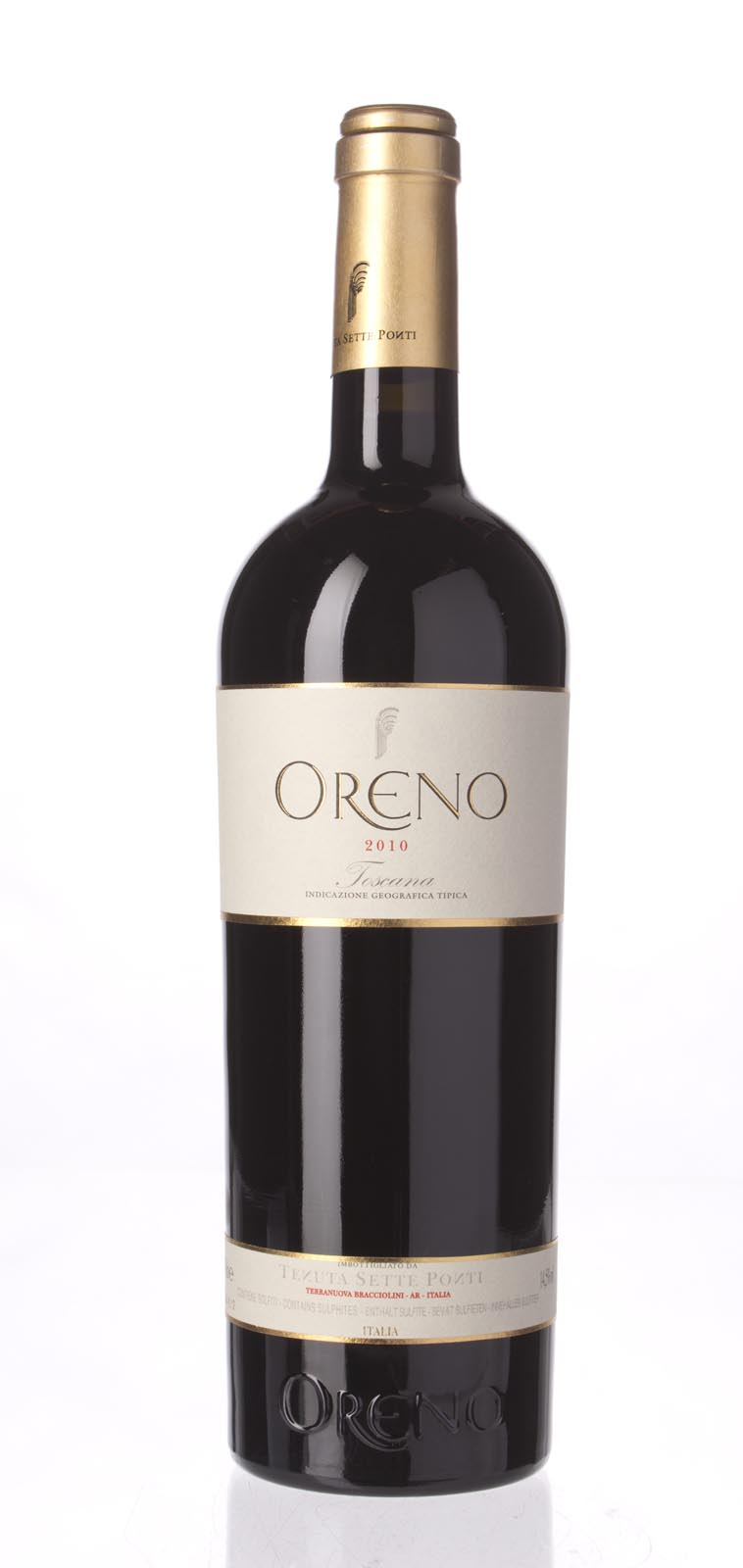Sette Ponti Oreno 2010,  () from The BPW - Merchants of rare and fine wines.