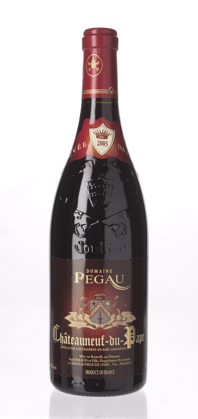 Domaine du Pegau Chateauneuf du Pape Cuvee da Capo 2003, 750mL (WA100, WS99) from The BPW - Merchants of rare and fine wines.