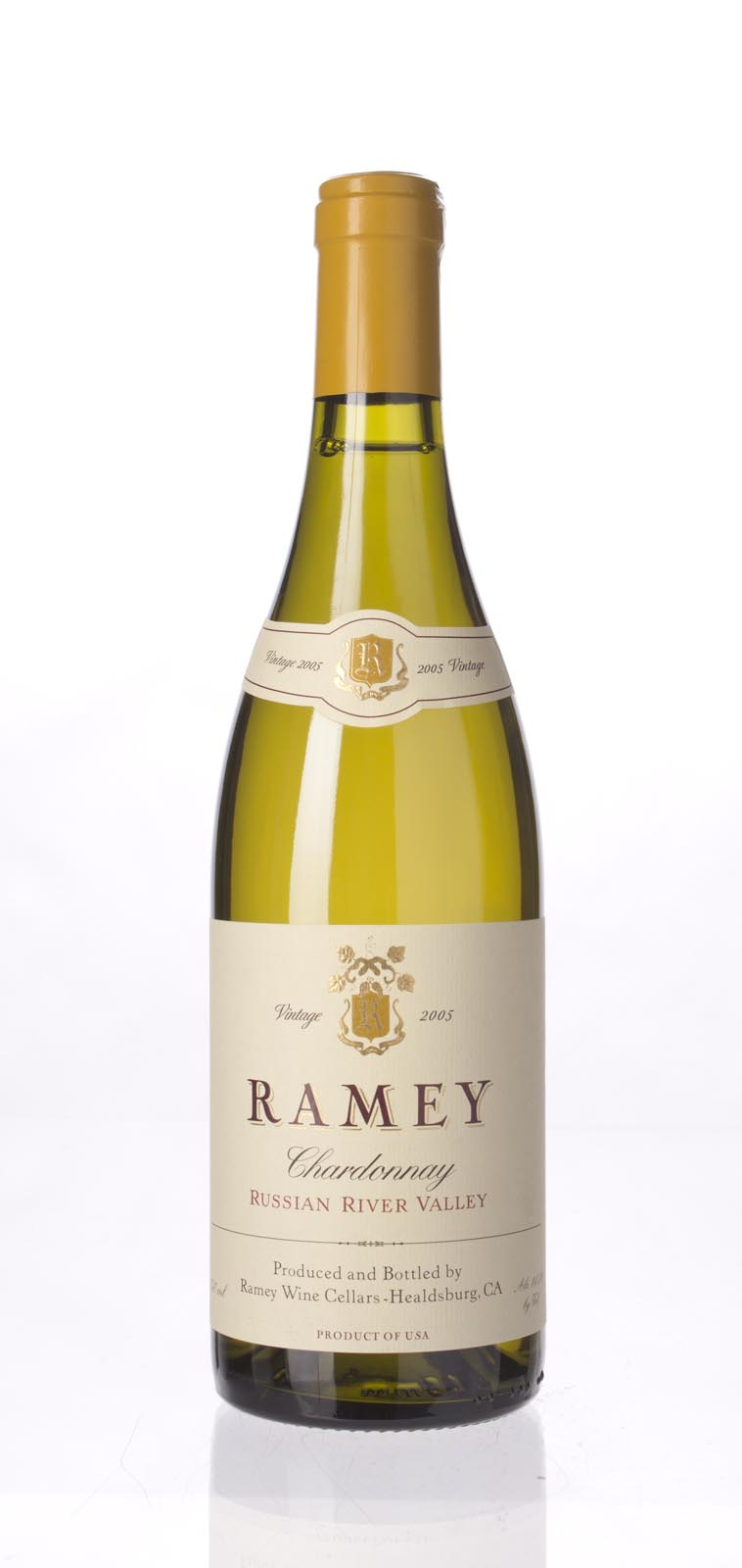 Ramey Chardonnay Russian River Valley 2005, 750mL (WA92, ST91) from The BPW - Merchants of rare and fine wines.