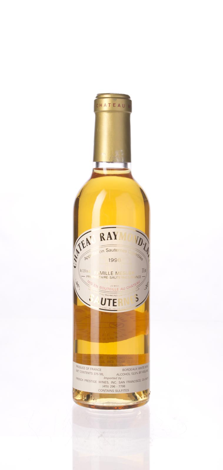Raymond Lafon 1998, 375ml () from The BPW - Merchants of rare and fine wines.