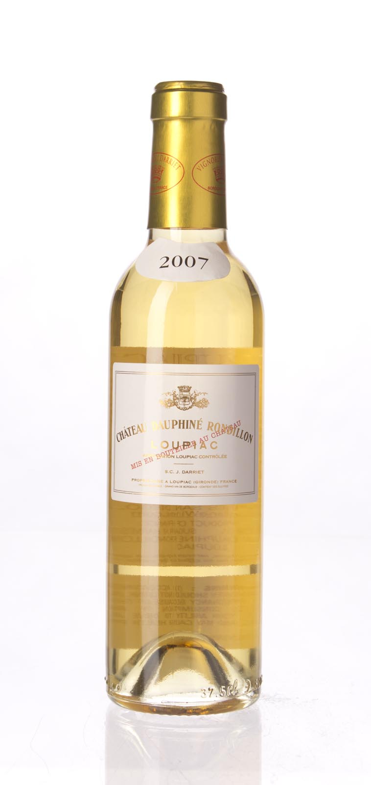 Dauphine Rondillon Loupiac 2007, 375ml () from The BPW - Merchants of rare and fine wines.