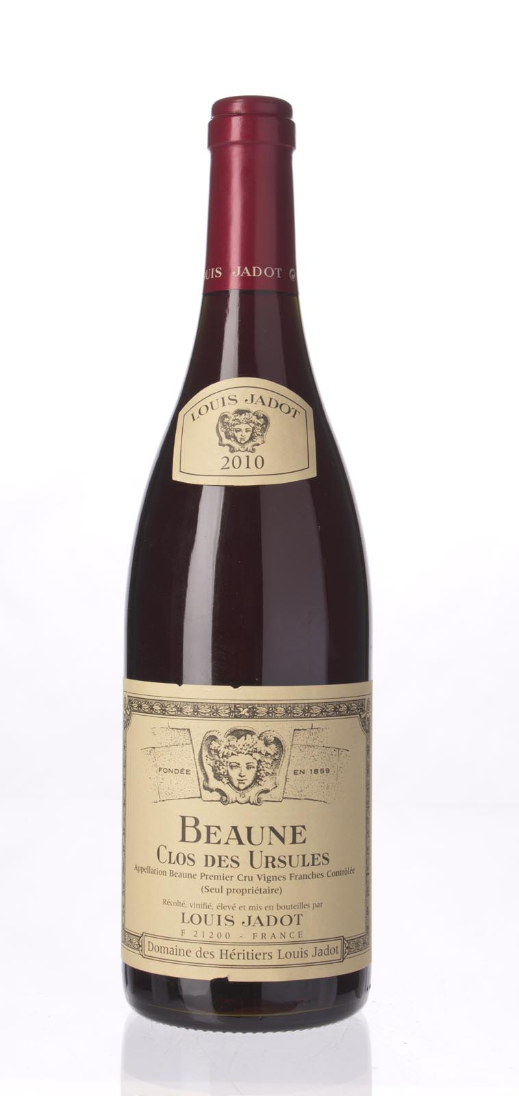 Louis Jadot Beaune Clos des Ursules 2010, 750mL (BH91-93, WA91-93) from The BPW - Merchants of rare and fine wines.