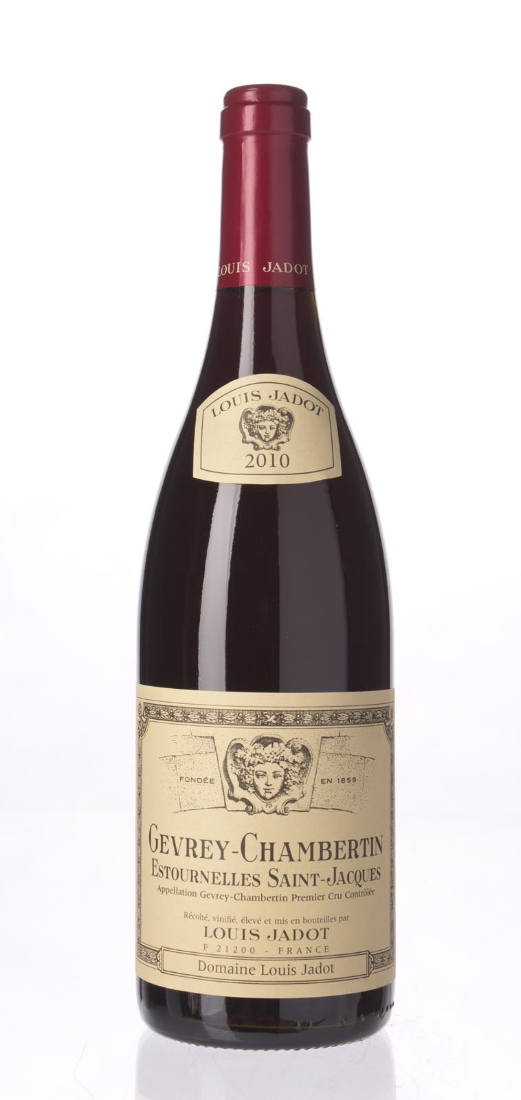 Louis Jadot Gevrey Chambertin Estournelles St. Jacques 2010, 750mL (WA92-94) from The BPW - Merchants of rare and fine wines.