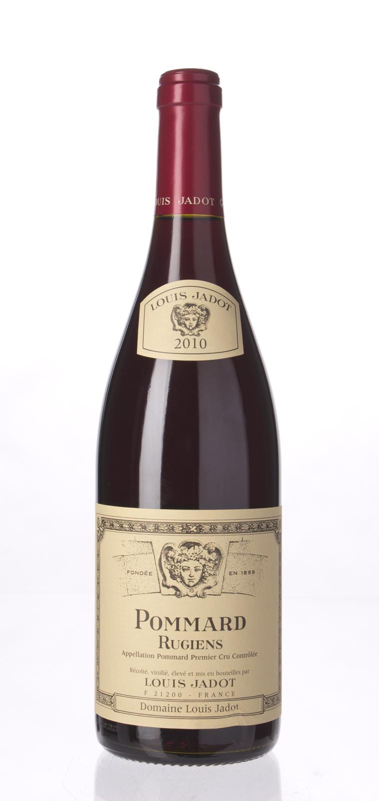 Louis Jadot Pommard les Rugiens 2010, 750mL (BH91-94) from The BPW - Merchants of rare and fine wines.