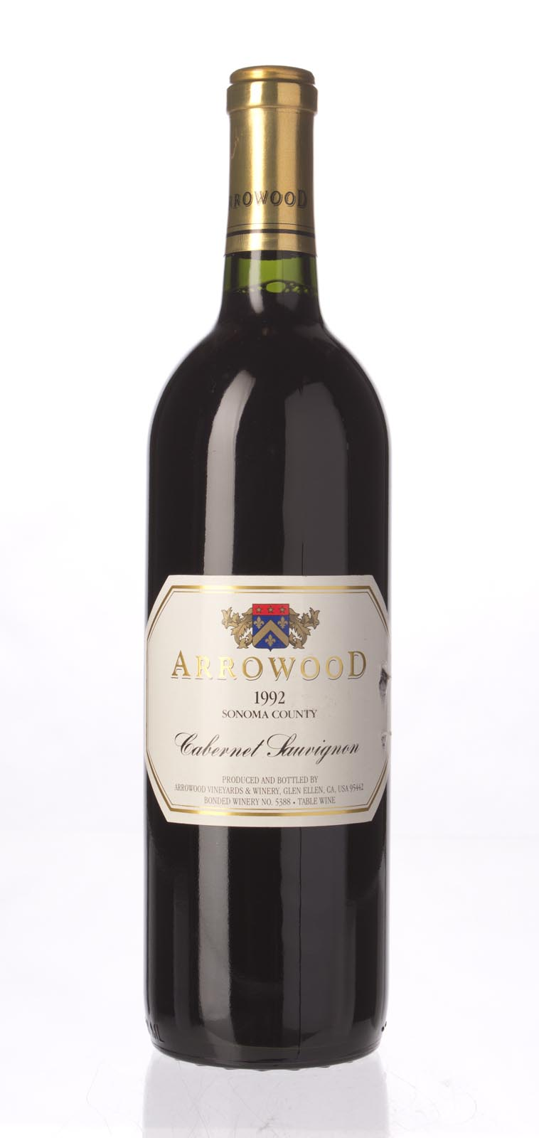 Arrowood Cabernet Sauvignon Sonoma County 1992, 750mL (WS92) from The BPW - Merchants of rare and fine wines.