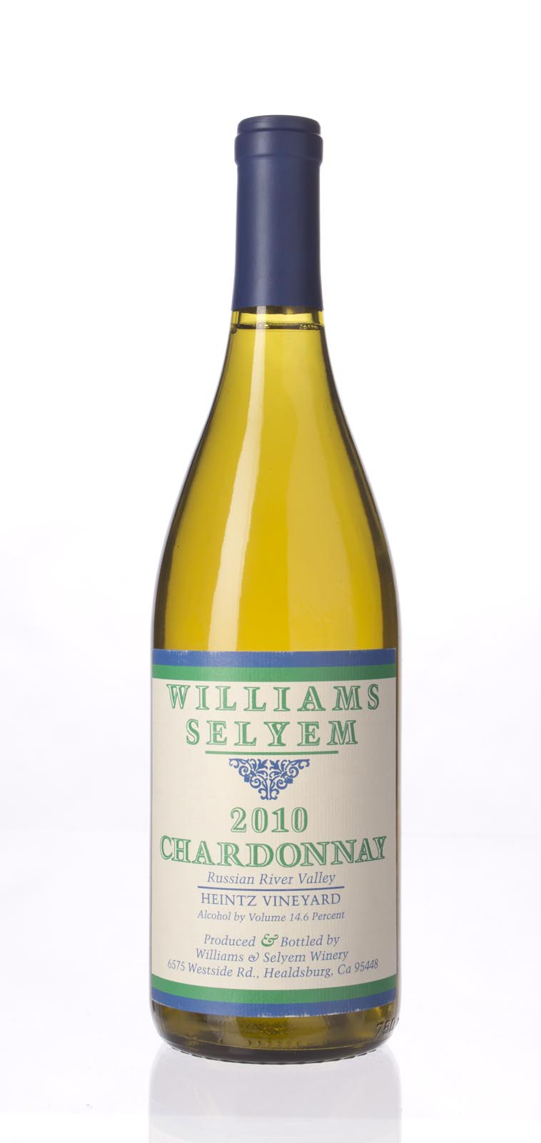 Williams Selyem Chardonnay Heintz Vineyard 2010, 750mL () from The BPW - Merchants of rare and fine wines.