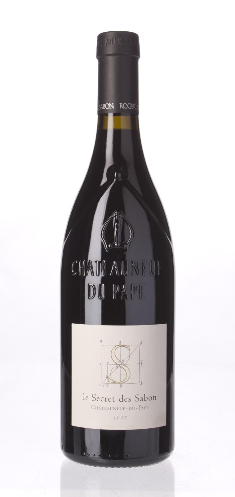 Domaine Roger Sabon Chateauneuf du Pape le Secret de Sabon 2007, 750mL (WA97+, ST96) from The BPW - Merchants of rare and fine wines.