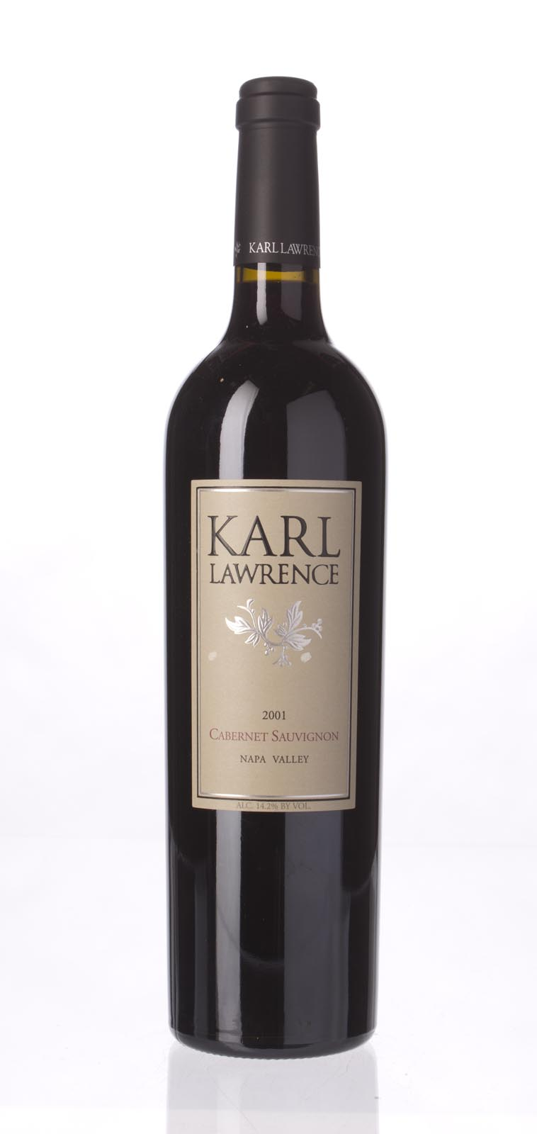 Karl Lawrence Cabernet Sauvignon Napa Valley 2001, 750mL (WA88) from The BPW - Merchants of rare and fine wines.