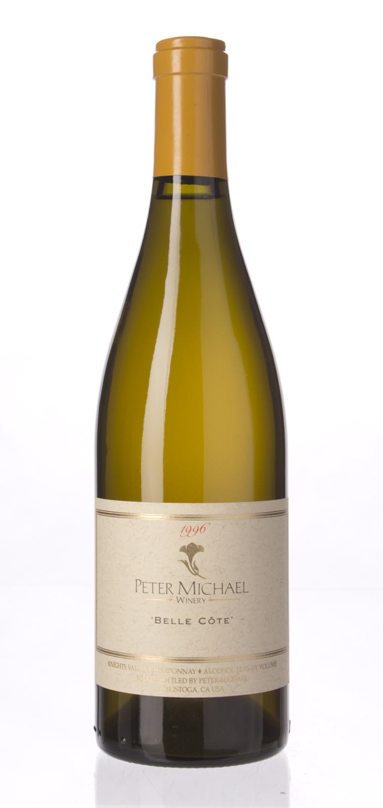 Peter Michael Winery Chardonnay Belle Cote 1996, 750mL (WA93, WS93) from The BPW - Merchants of rare and fine wines.