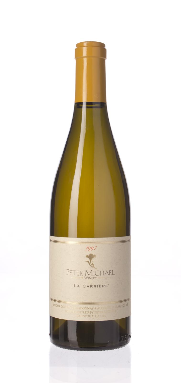 Peter Michael Winery Chardonnay la Carriere 1997, 750mL (WA94) from The BPW - Merchants of rare and fine wines.