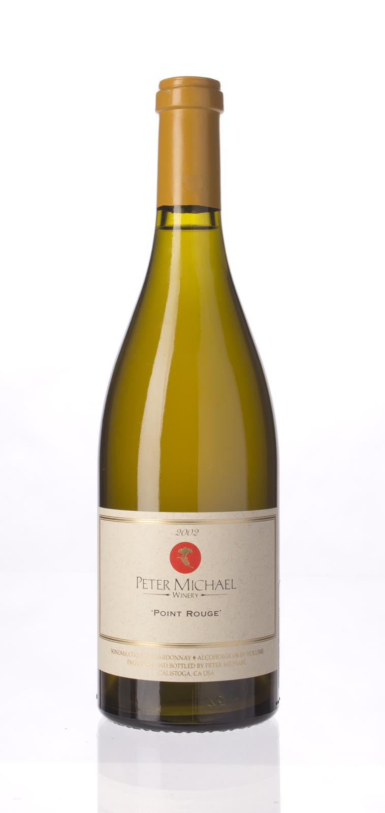 Peter Michael Winery Chardonnay Point Rouge 2002, 750mL (WA96-98) from The BPW - Merchants of rare and fine wines.