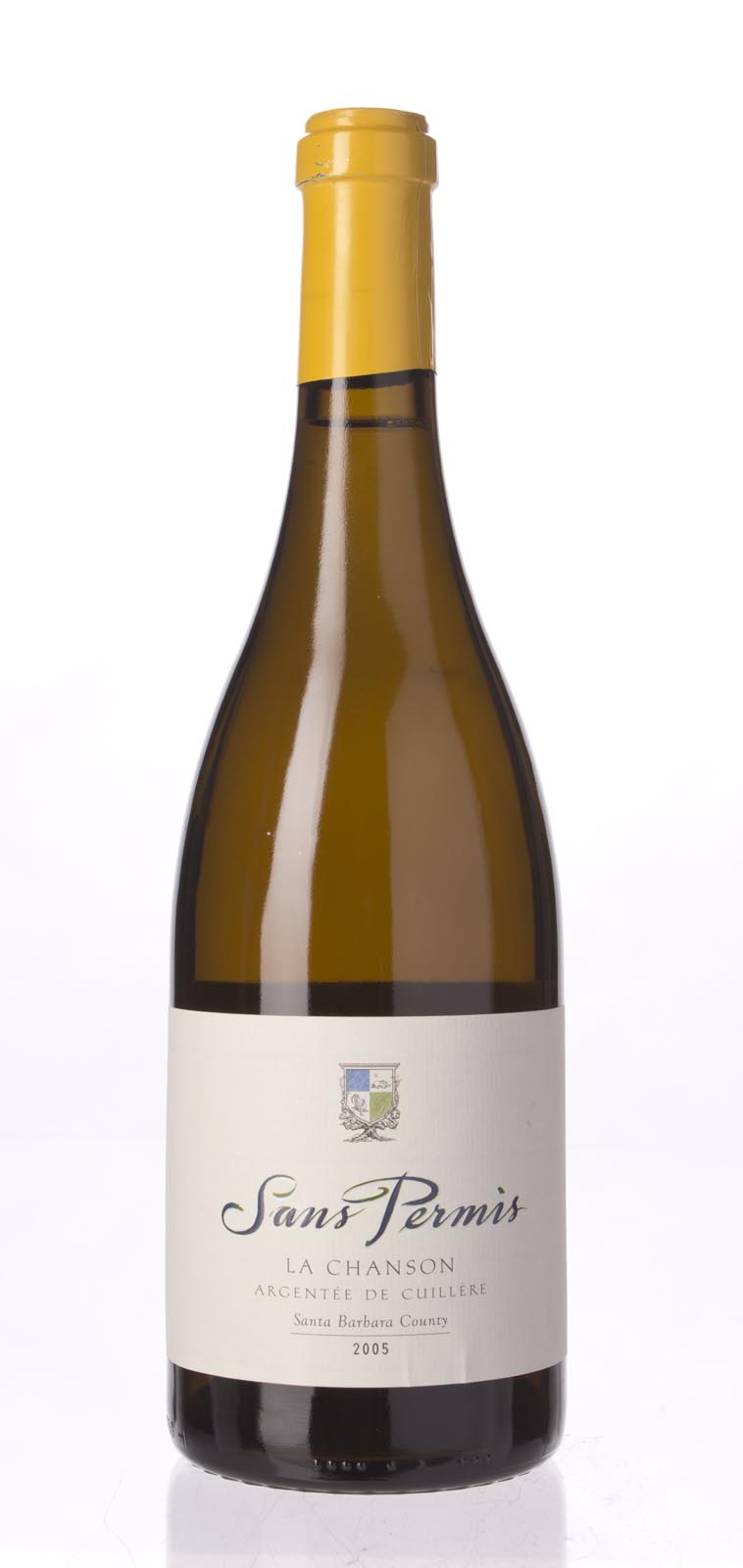 Sans Permis Chardonnay la Chanson Argentee de Cuillere 2005, 750ml () from The BPW - Merchants of rare and fine wines.