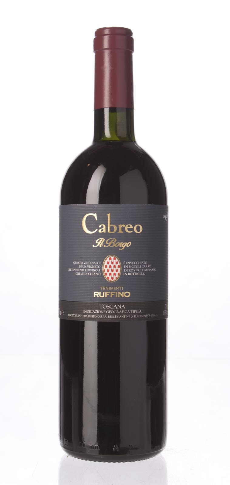 Ruffino Cabreo Il Borgo IGT 1996, 750mL () from The BPW - Merchants of rare and fine wines.