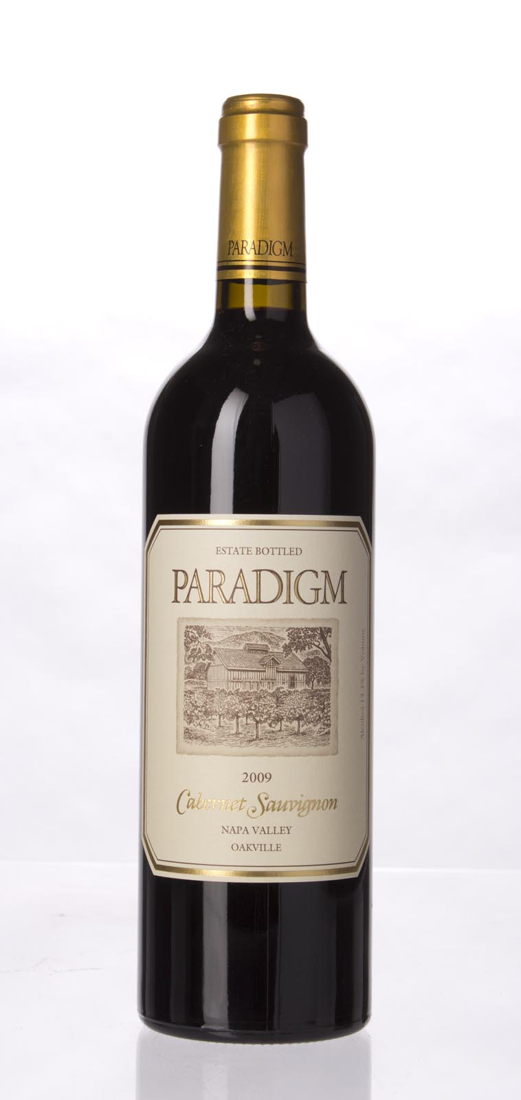 Paradigm Cabernet Sauvignon Oakville Estate 2010, 375ml () from The BPW - Merchants of rare and fine wines.