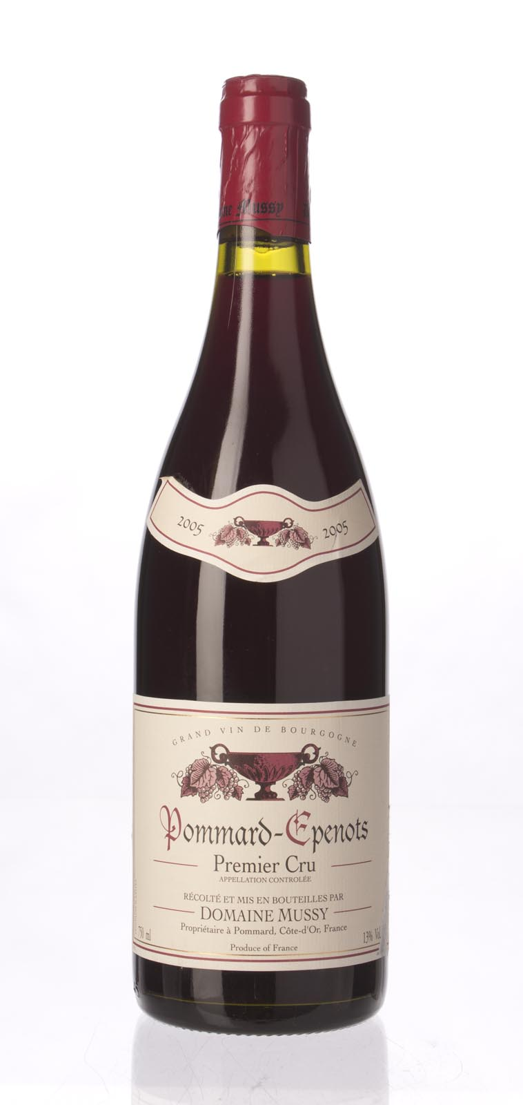 Domaine Mussy Pommard les Epenots 2005, 750mL () from The BPW - Merchants of rare and fine wines.