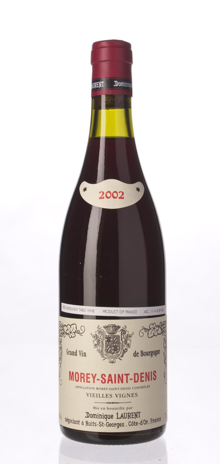 Dominique Laurent Morey St. Denis Vieilles Vignes 2002, 750mL () from The BPW - Merchants of rare and fine wines.