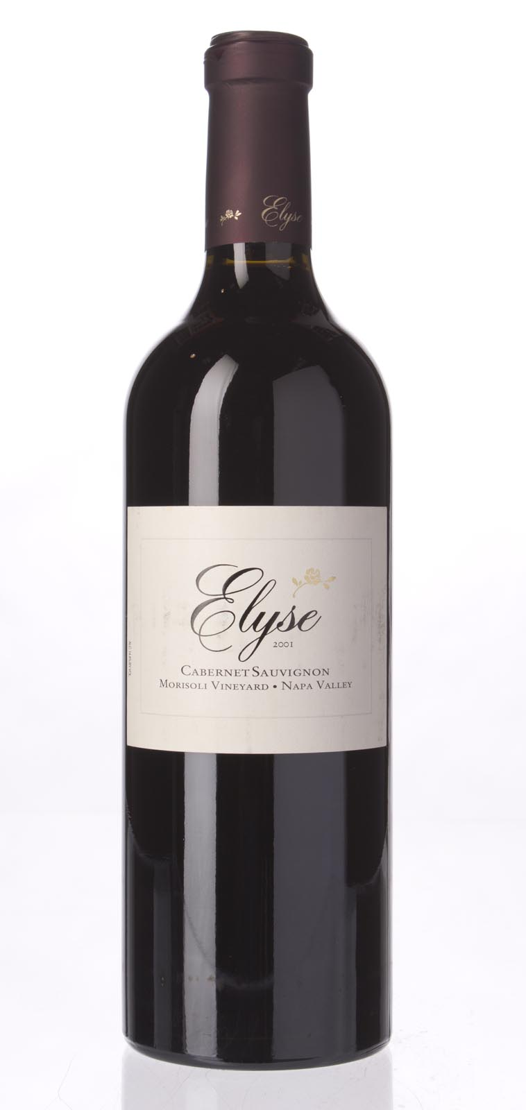 Elyse Winery Cabernet Sauvignon Morisoli Vineyard 2001, 750mL (WA90) from The BPW - Merchants of rare and fine wines.