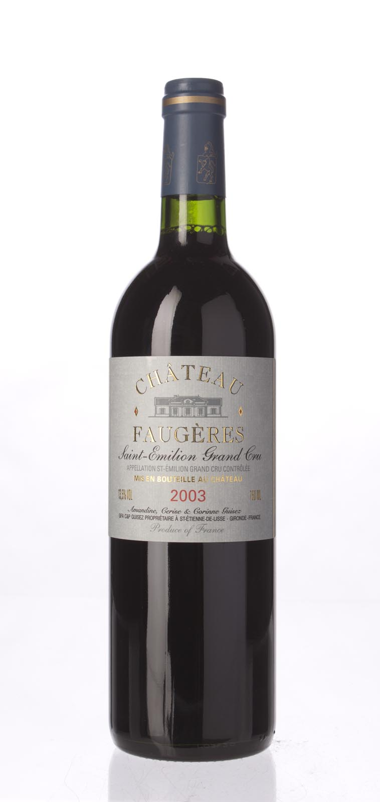 Faugeres 2003, 750mL (WA89) from The BPW - Merchants of rare and fine wines.