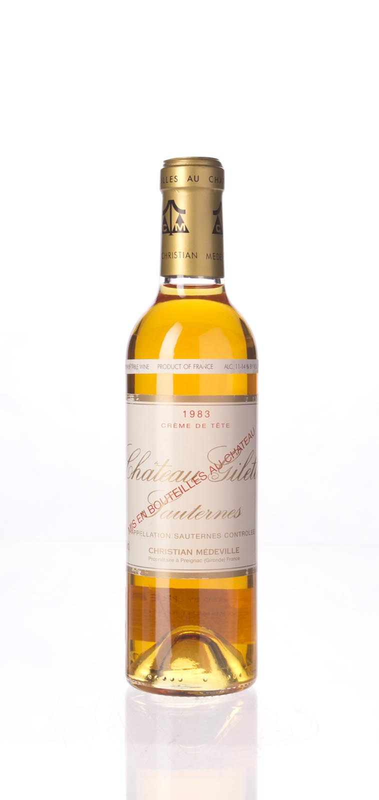 Gilette Creme de Tete 1983, 375ml () from The BPW - Merchants of rare and fine wines.