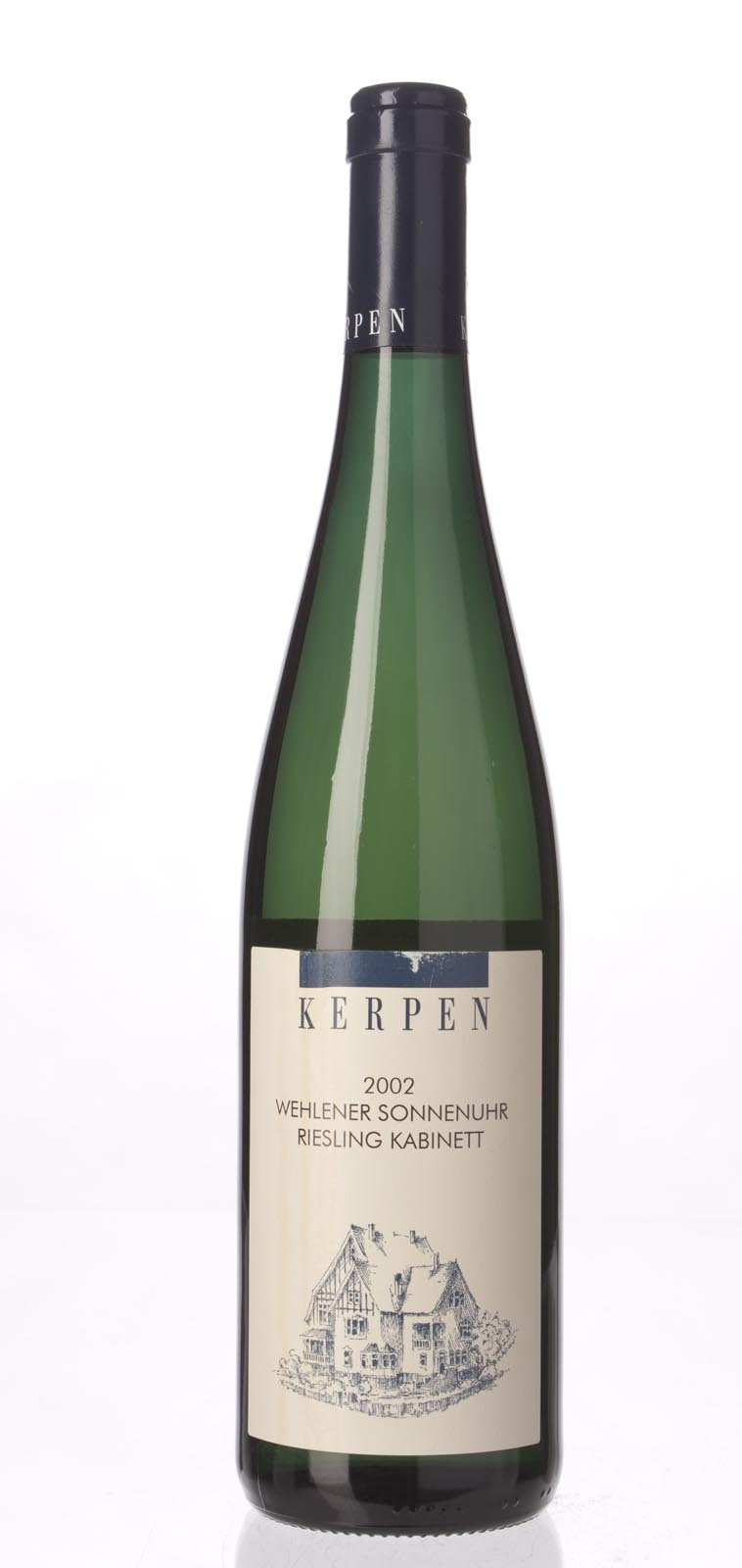Kerpen Wehlener Sonnenuhr Riesling Kabinett 2002, 750mL (CT90) from The BPW - Merchants of rare and fine wines.
