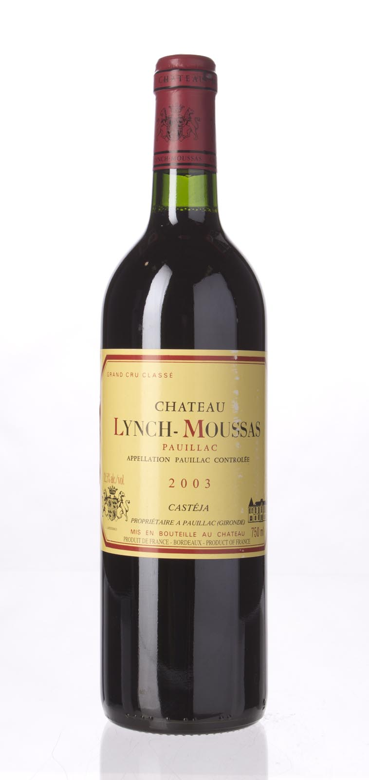 Lynch Moussas 2003, 750mL (WS90) from The BPW - Merchants of rare and fine wines.