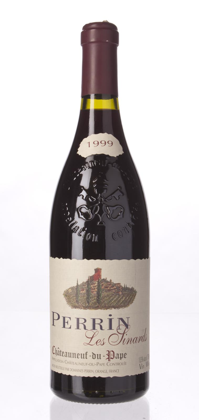 Perrin Chateauneuf du Pape les Sinards 1999, 750mL (WA88-89) from The BPW - Merchants of rare and fine wines.