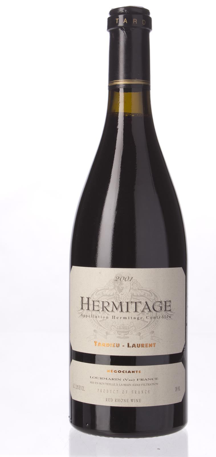 Tardieu Laurent Hermitage 2001, 750mL (ST92) from The BPW - Merchants of rare and fine wines.