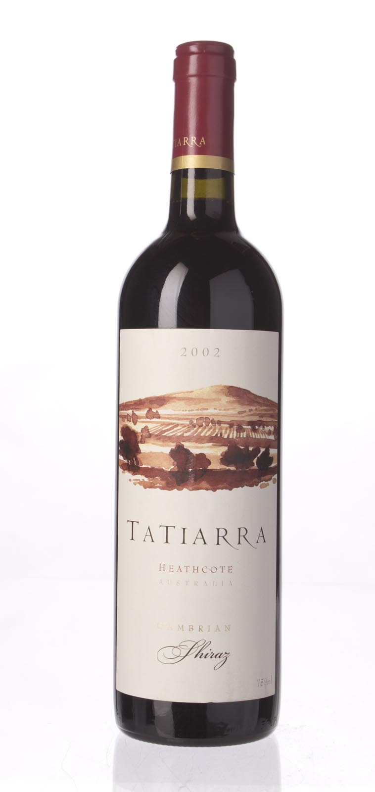 Tatiarra Shiraz Cambrian 2002, 750mL (WA91) from The BPW - Merchants of rare and fine wines.
