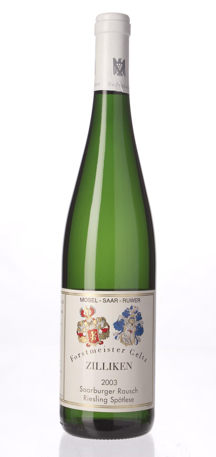 Zilliken Saarburger Rausch Riesling Spatlese AP #8 2003, 750mL (CT90.6) from The BPW - Merchants of rare and fine wines.