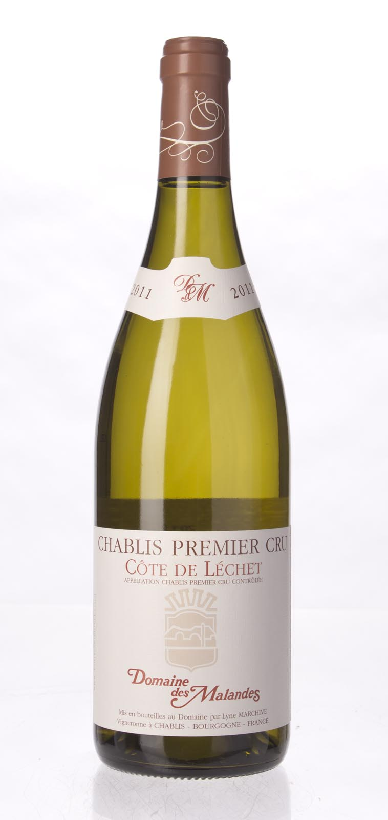 Domaine des Malandes Chablis Cote de Lechet 2011, 750ml (BH90-92) from The BPW - Merchants of rare and fine wines.