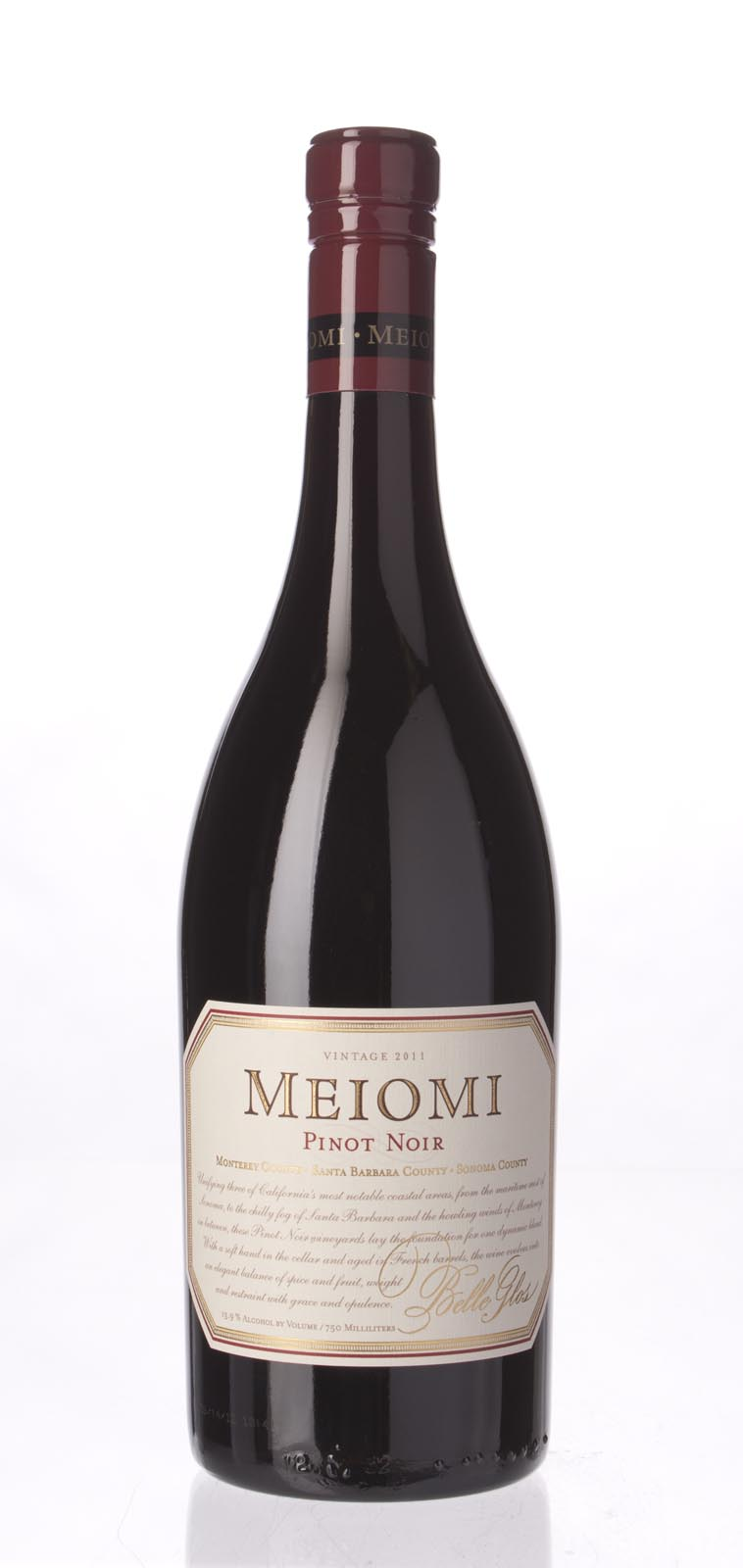 Belle Glos Pinot Noir Meiomi 2011, 750ml () from The BPW - Merchants of rare and fine wines.