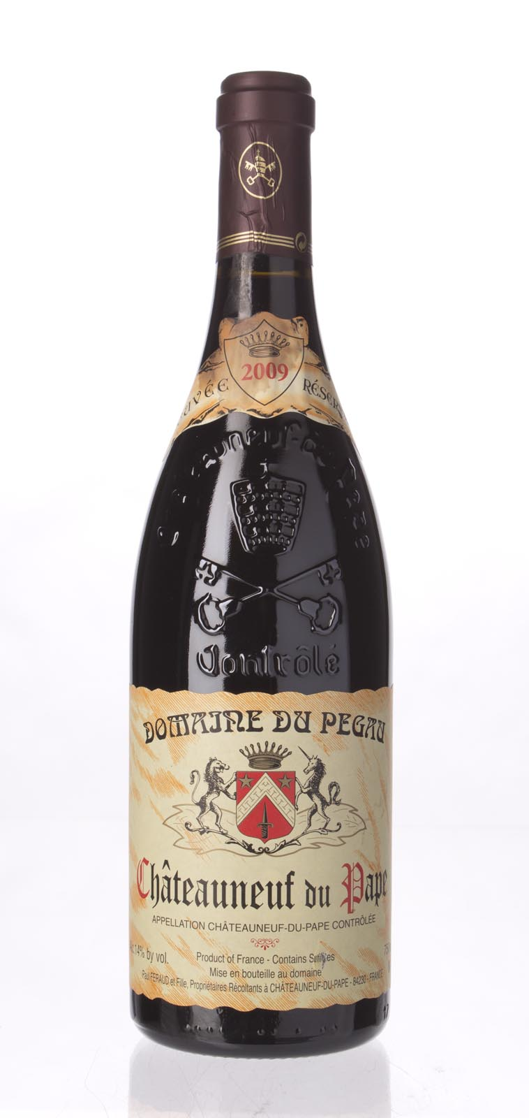 Domaine du Pegau Chateauneuf du Pape Cuvee Reservee 2009, 750ml (WA98) from The BPW - Merchants of rare and fine wines.