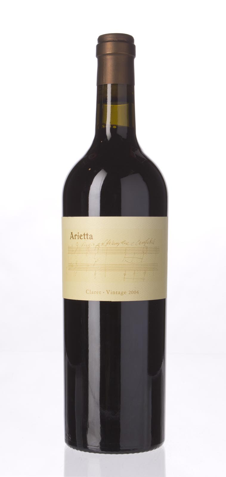 Arietta Claret Napa Valley 2004, 750mL (WA90, ST91+) from The BPW - Merchants of rare and fine wines.