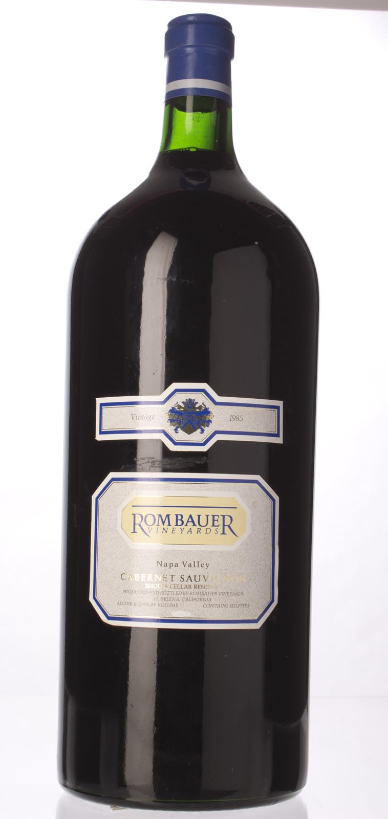 Rombauer Cabernet Sauvignon Rhodes Cellar Reserve 1985, 6L () from The BPW - Merchants of rare and fine wines.