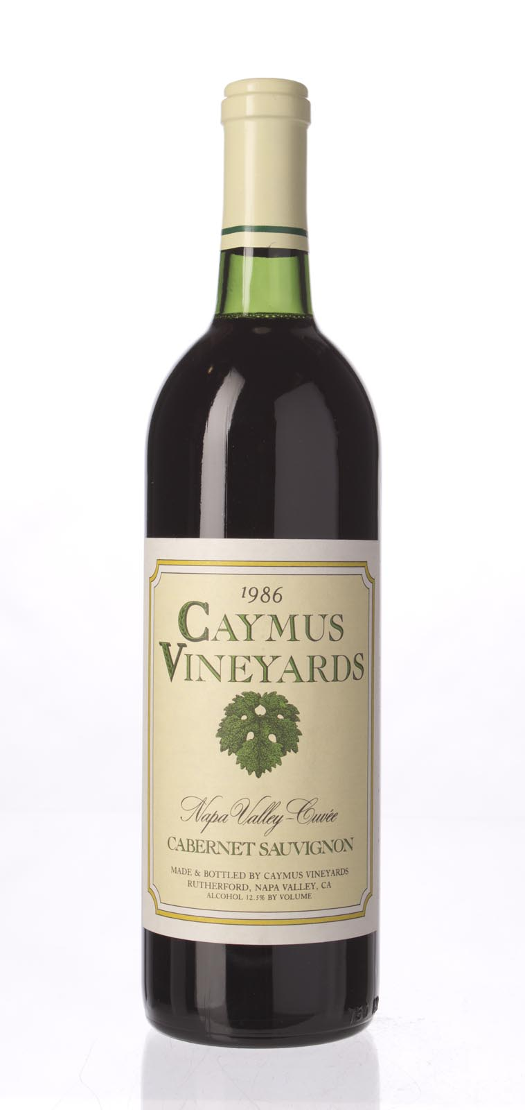 Caymus Cabernet Sauvignon Napa Valley Cuvee 1986, 750mL () from The BPW - Merchants of rare and fine wines.