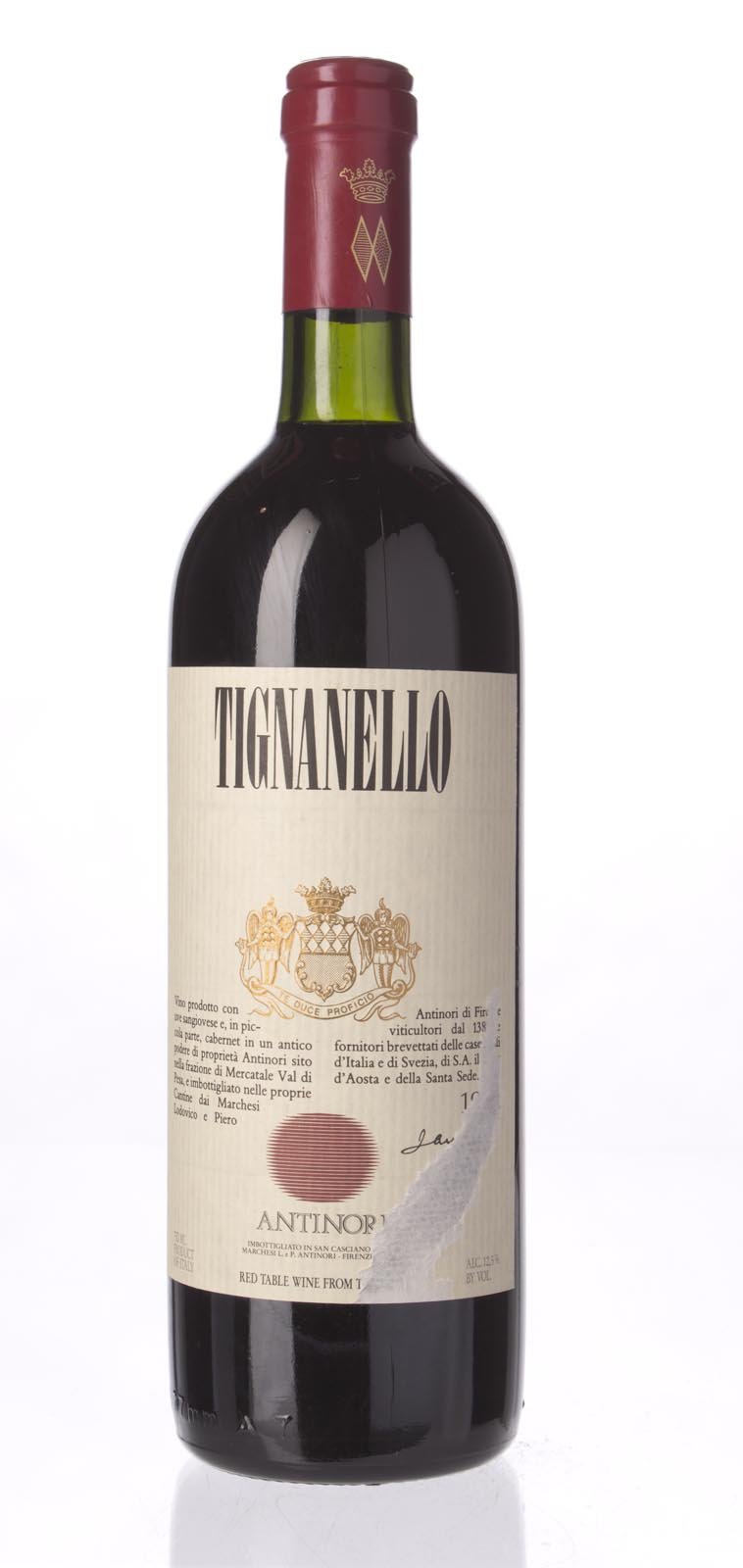 Antinori Tignanello 1988, 750mL (WS95) from The BPW - Merchants of rare and fine wines.