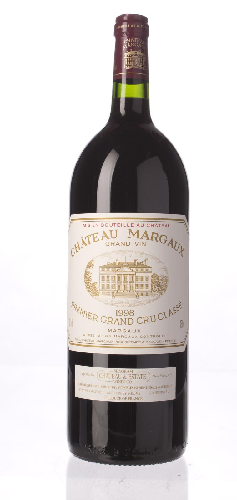 Chateau Margaux 1998, 1.5L (WA91, ST92) from The BPW - Merchants of rare and fine wines.