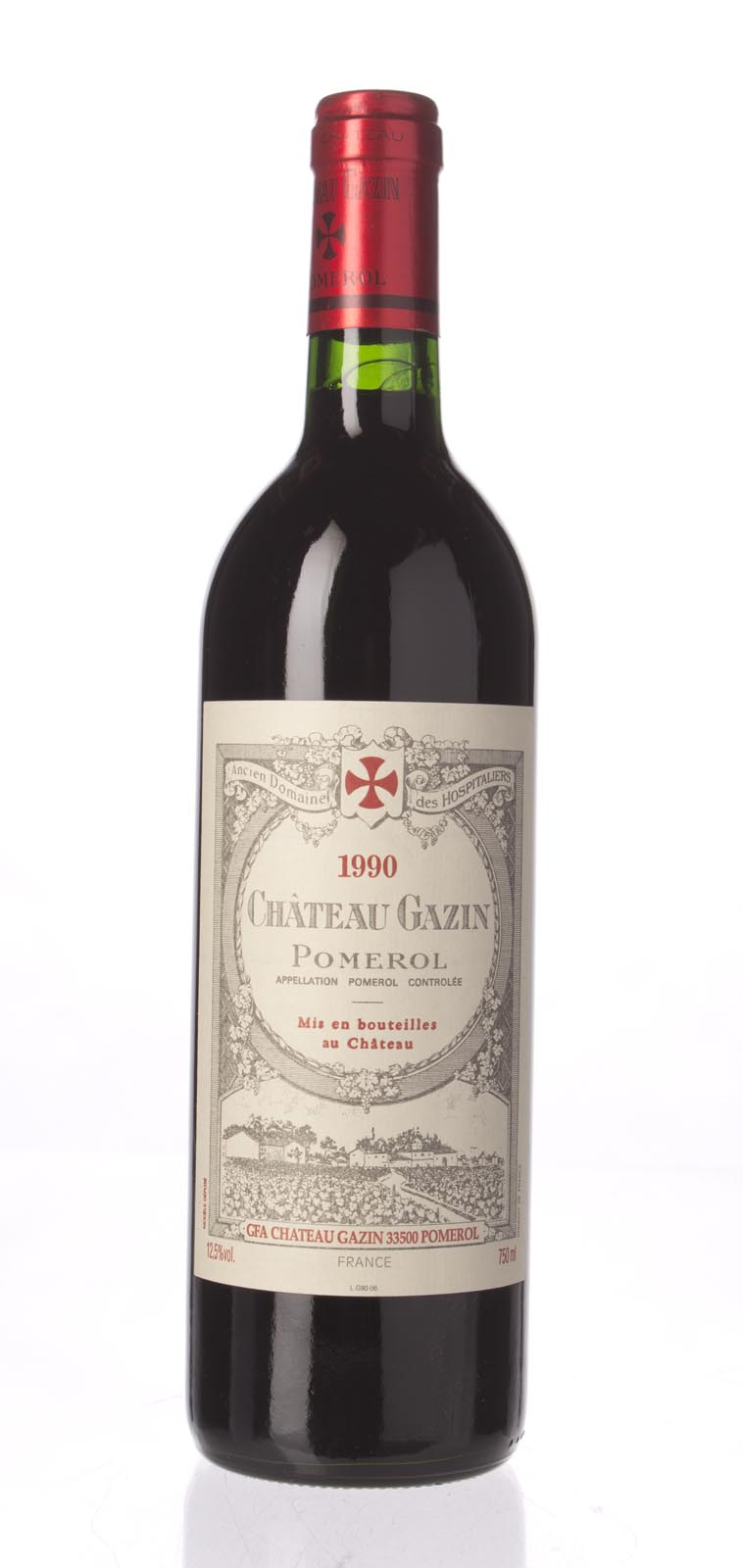 Gazin 1990,  (WA91) from The BPW - Merchants of rare and fine wines.