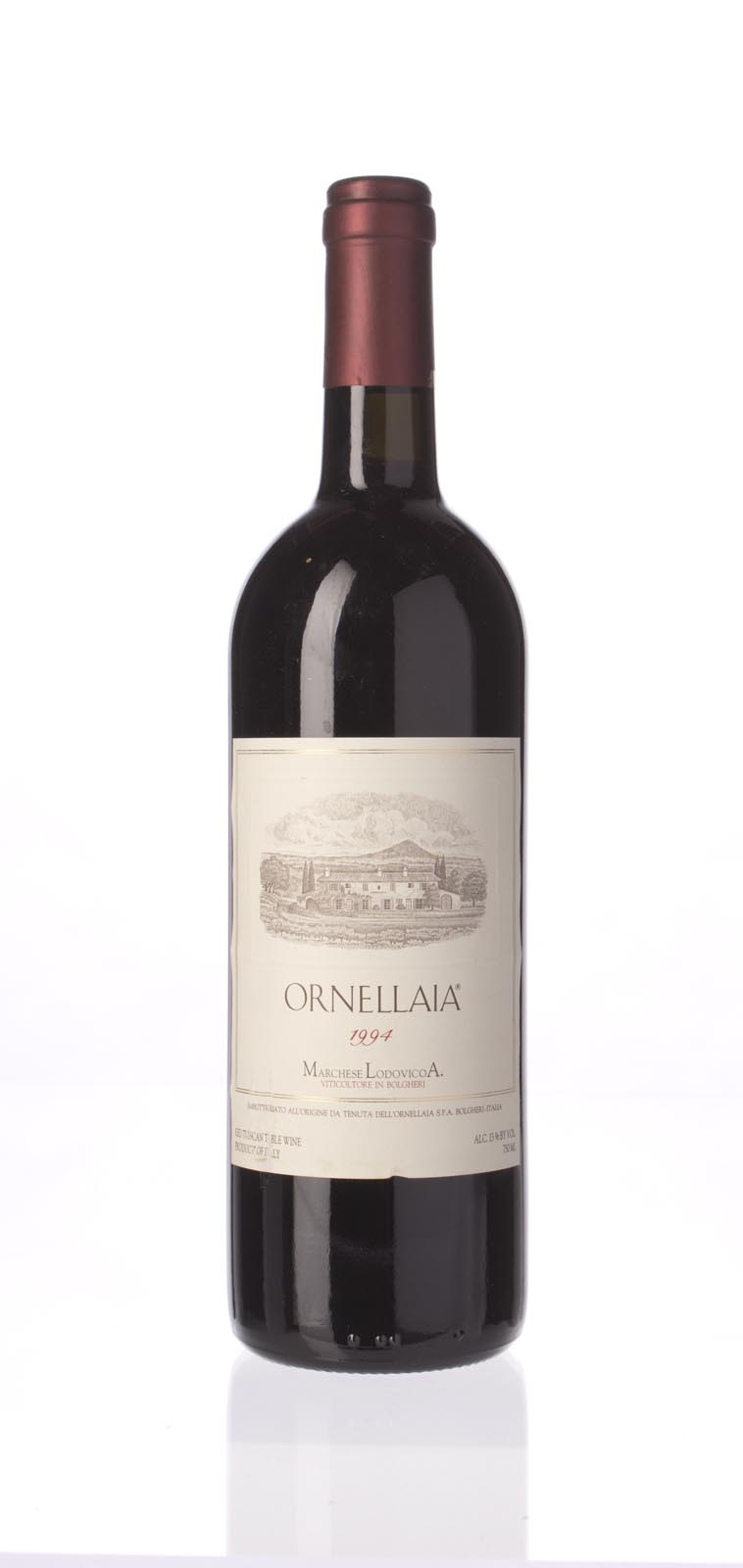 Tenuta dell`Ornellaia `Ornellaia` 1994, 750mL () from The BPW - Merchants of rare and fine wines.