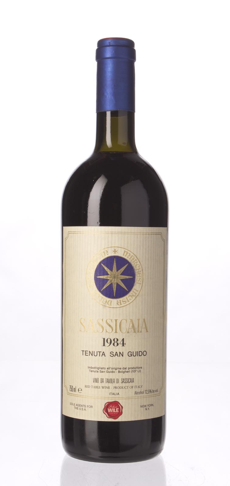 Tenuta San Guido Sassicaia 1984, 750mL () from The BPW - Merchants of rare and fine wines.