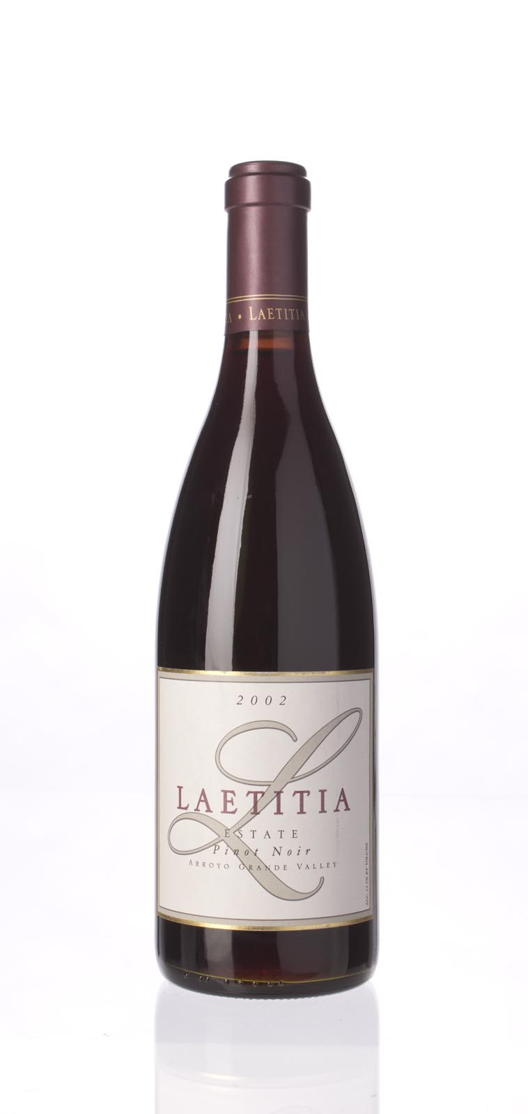 Laetitia Pinot Noir Estate 2002, 750mL () from The BPW - Merchants of rare and fine wines.