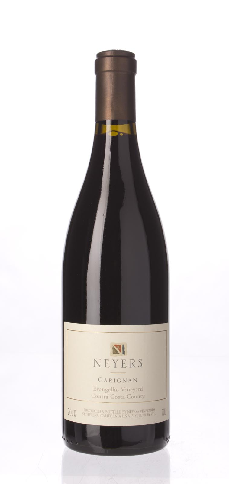 Neyers Carignan Evangelho Vineyard 2010, 750ml (WS93) from The BPW - Merchants of rare and fine wines.