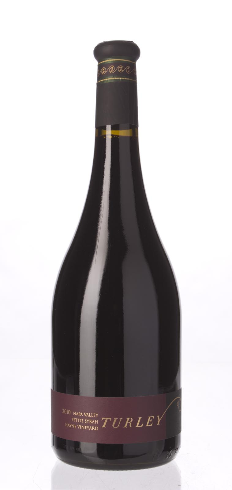 Turley Wine Cellars Petite Sirah Hayne Vineyard 2010, 750mL (WA94, ST93-95) from The BPW - Merchants of rare and fine wines.