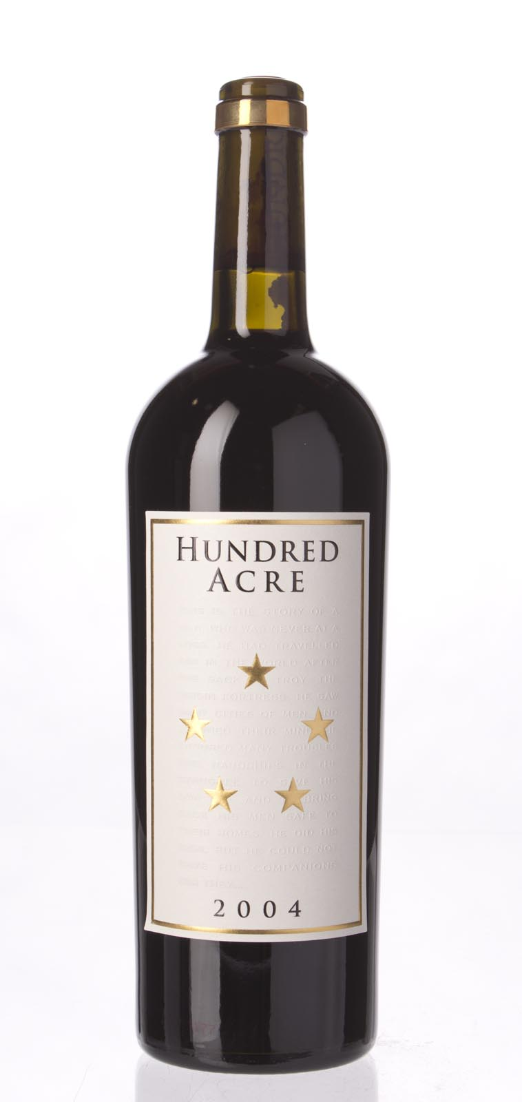 Hundred Acre Shiraz Ancient Way Vineyard Summer`s Blocks 2004, 750mL (ST91) from The BPW - Merchants of rare and fine wines.
