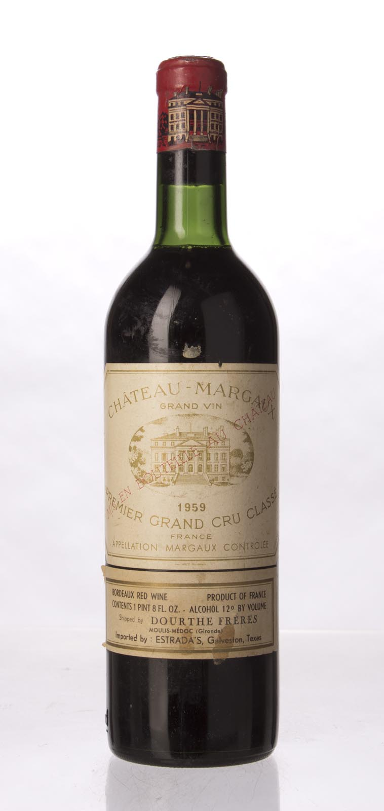 Chateau Margaux 1959, 750mL (WS95) from The BPW - Merchants of rare and fine wines.
